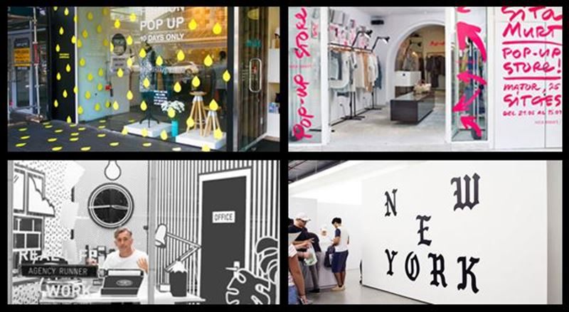 Pop-up shops - new opportunities popping up for retail signage