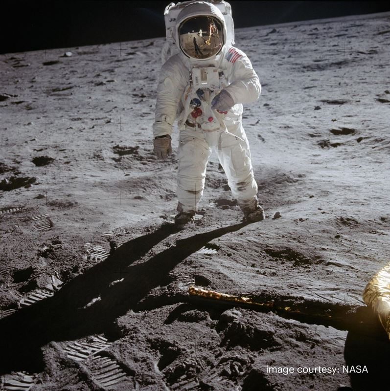 To the moon and back with Kodak - 50 years of out of this world images and prints