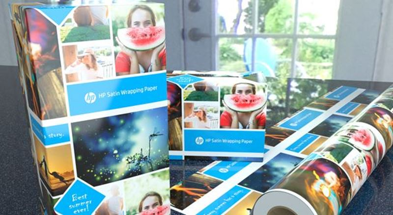 HP Satin Wrapping Paper — wrap your head around this market opportunity
