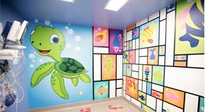 Healthcare facilities are learning print graphics are just what the doctor ordered