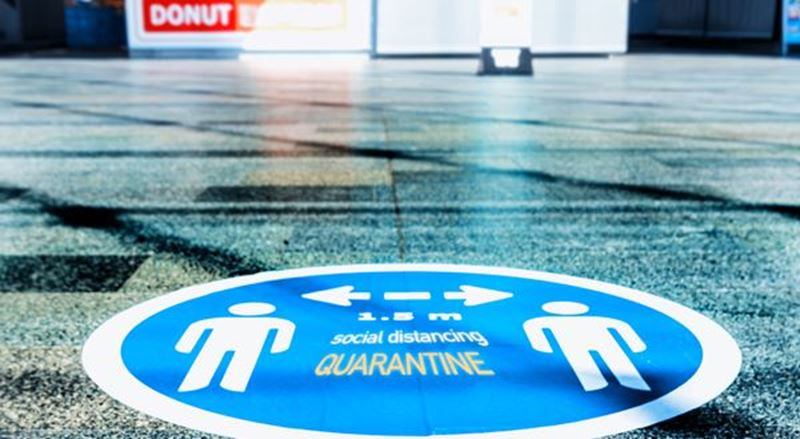 HP Removable Adhesive Fabric is now certified safe for floor graphics!