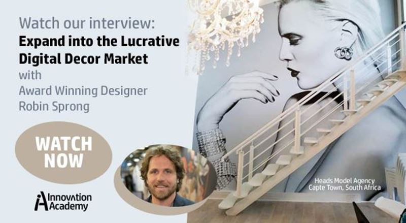 Watch Now: Designer Robin Sprong offers insights into the digital decor market