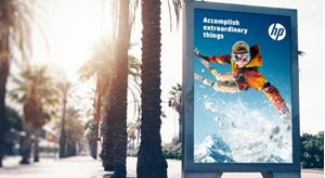 INTRODUCING HP Prime Gloss Air GR—durable, opaque vinyl with removable adhesive