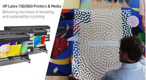 Offer HP Media: Designed to work flawlessly with the NEW HP Latex 700/800 Printers