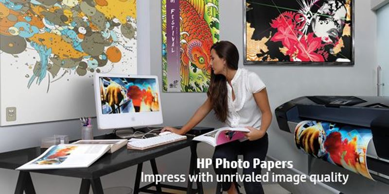 HP Universal Gloss & Satin Photo Papers—high-quality results at an economical price