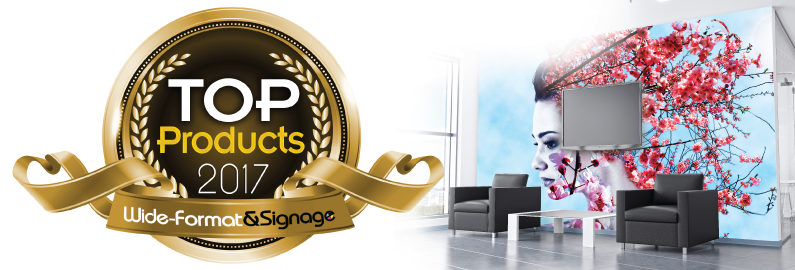 HP Large-Format Media | HP PVC-free Durable Suede Wall Paper